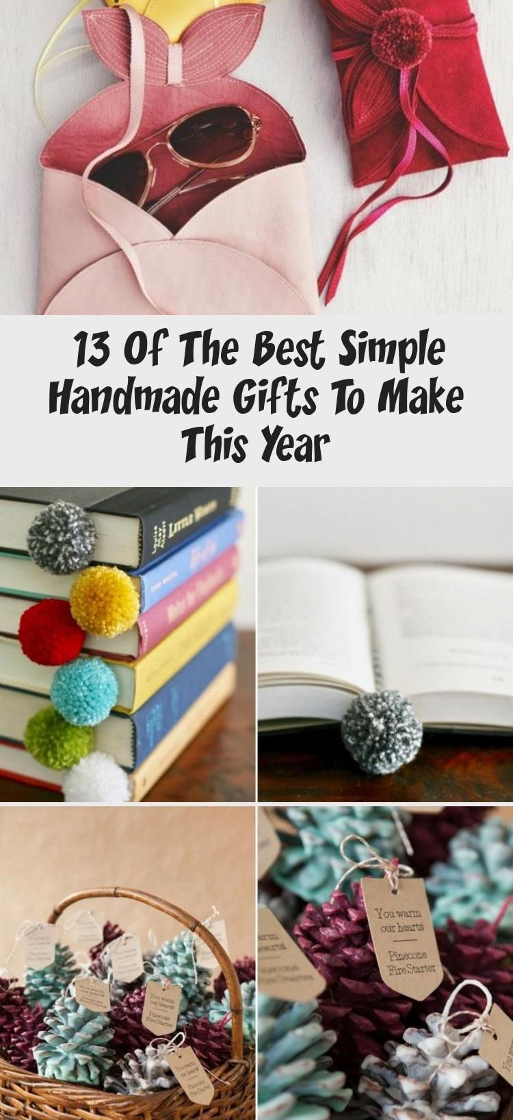 13 Of The Best Simple Handmade Gifts To Make This Year in