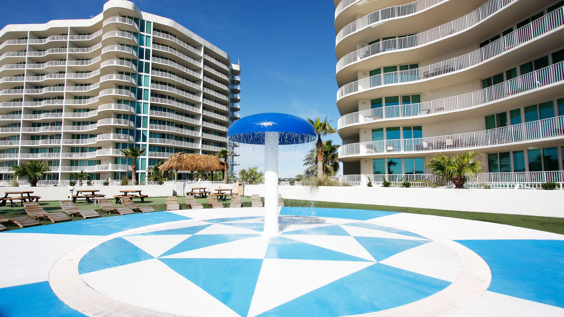 Tiered Outdoor Pools Heated Indoor Pools Hot Tubs Sauna Steam Rooms Fitness Centers Putting Orange Beach Vacation Beach Vacation Rentals Beach Vacation