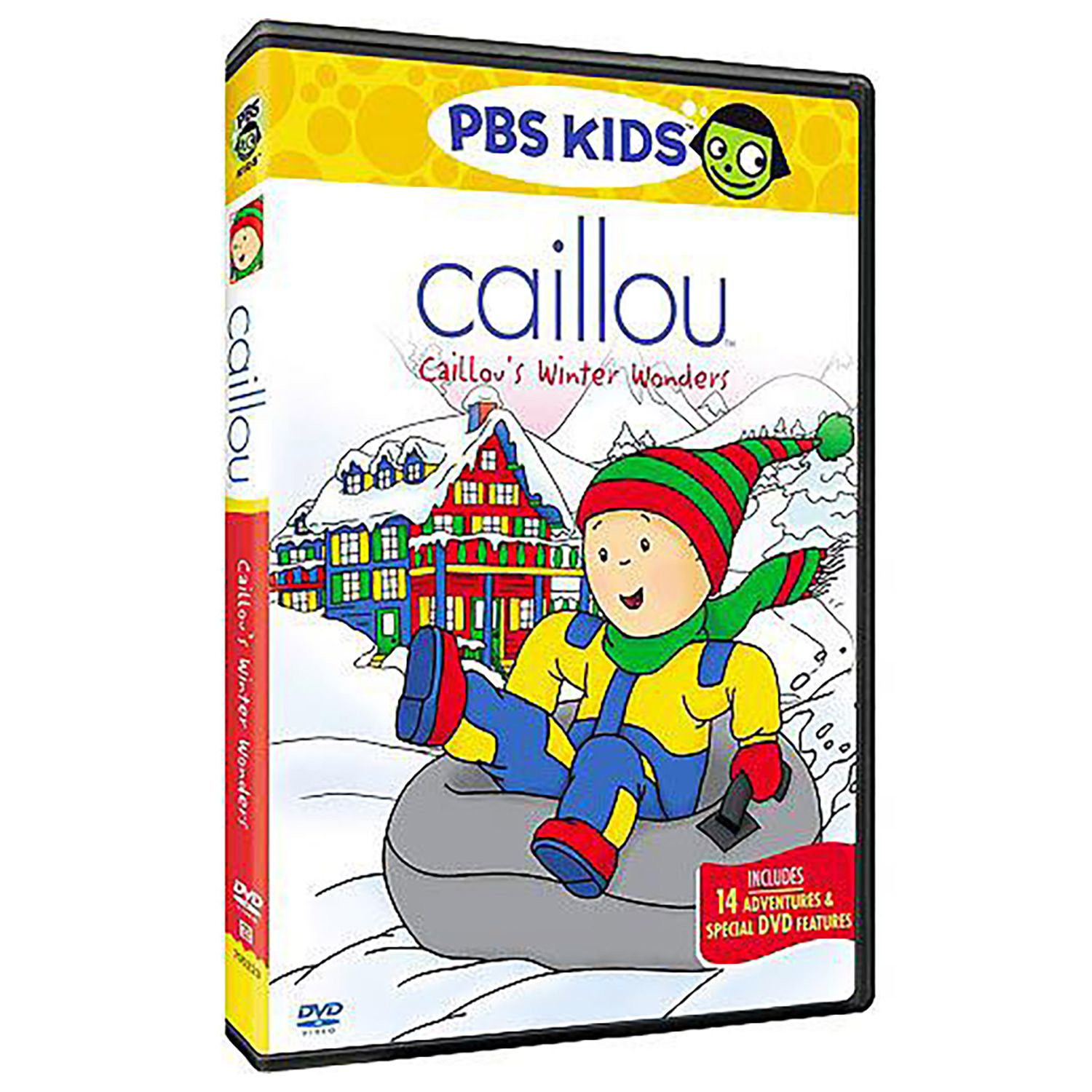 get into the holiday spirit with caillou u0026 39 s winter wonders
