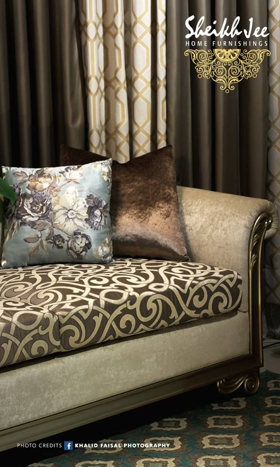 Spruce Up Your Interior With Plush Upholstery And Curtains Select
