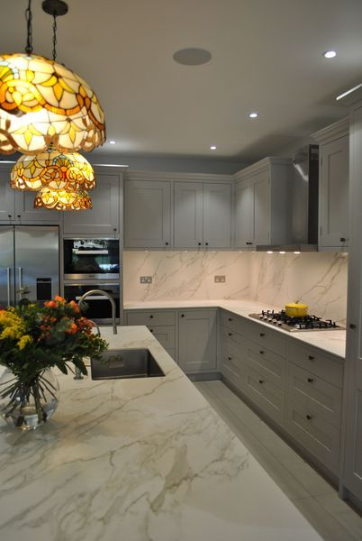 Organized Your Small Kitchen With L Shape Kitchen Design