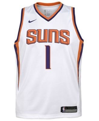 new product 5fc6e e8d27 Nike Devin Booker Phoenix Suns Association Swingman Jersey ...