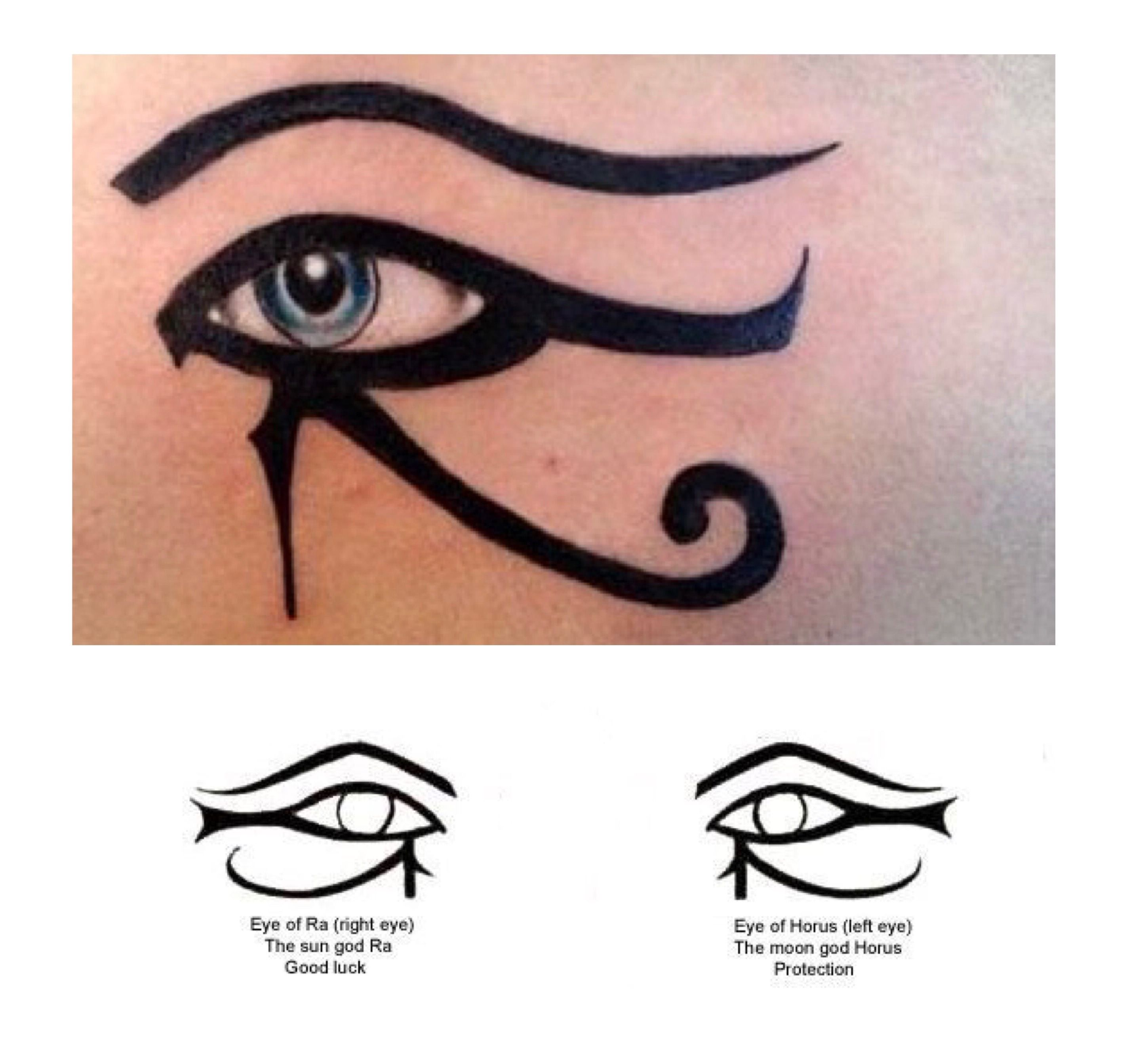 2 eye makeup visibly accented on Hathor... either/both