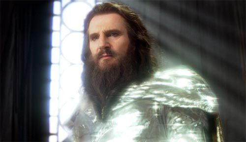 Well I always said he was a God! Liam Neeson as Zeus in The