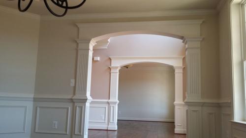 Custom Arched Cased Openings | Door & Window Trim ...