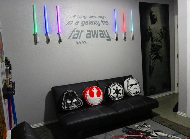 star wars room dream house pinterest. Black Bedroom Furniture Sets. Home Design Ideas