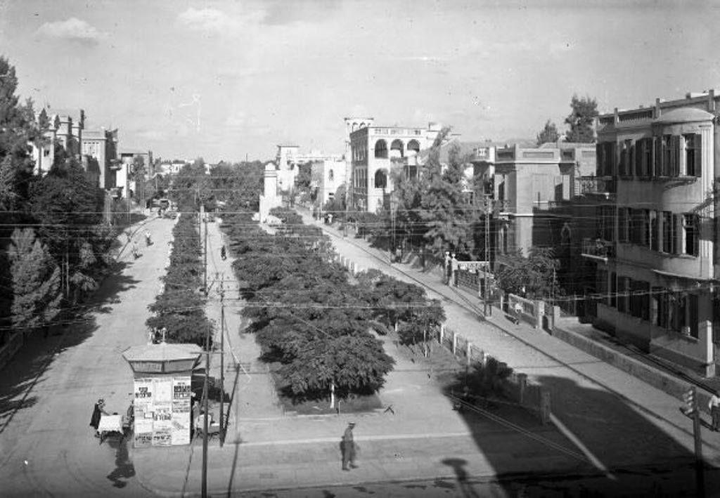 1930 Rotshild S Alley Tel Aviv Israel Palestine Old Pictures Street View