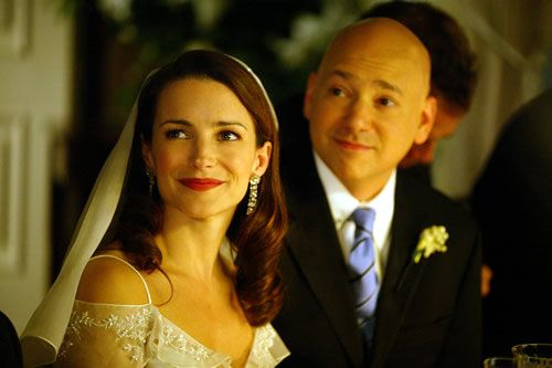 Kristin Davis and Evan Handler~ Sex and the City as Charlotte York and Harry Goldenblatt