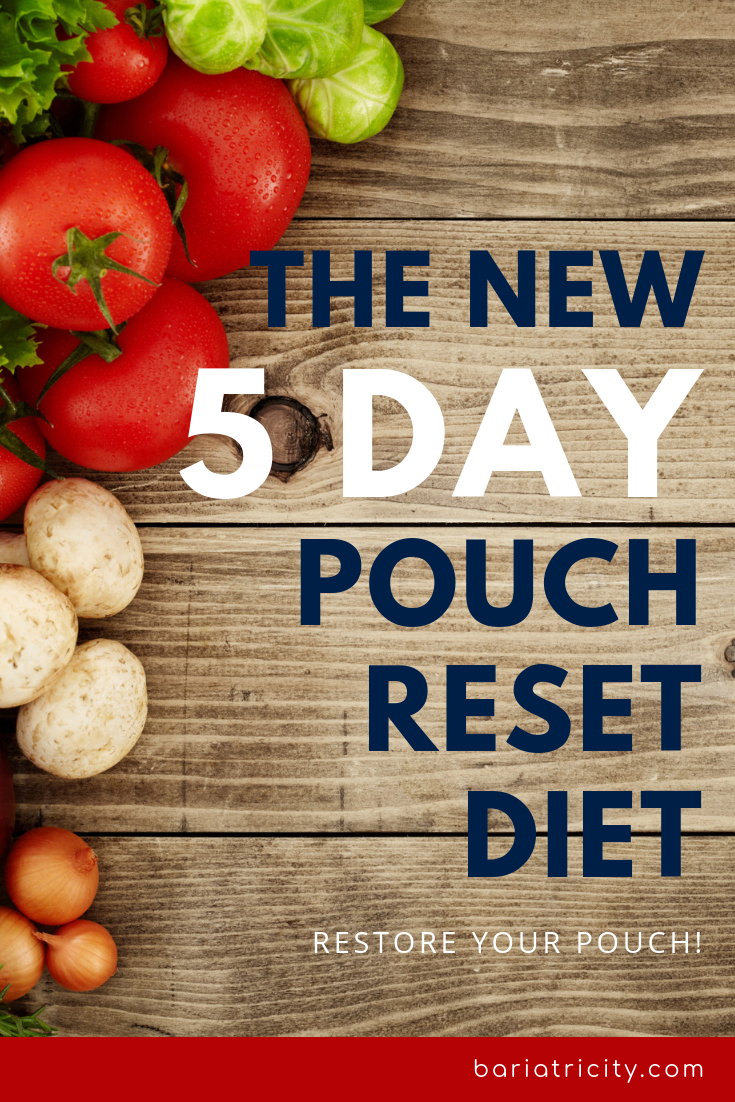 5 Day Pouch Restoration Diet The New Reset Diet With Meal Plan