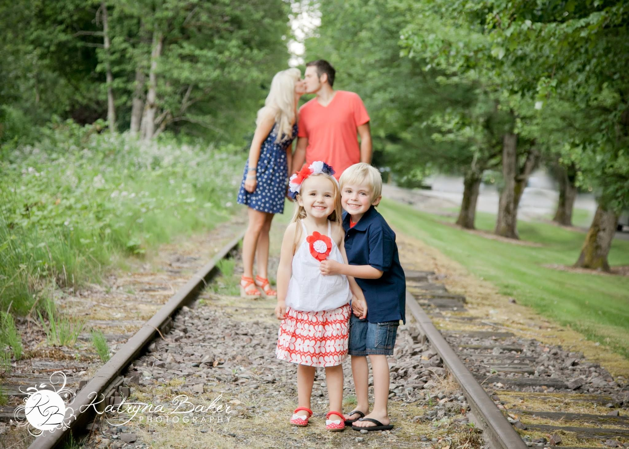 Poppino 4th Of July Family Portraits Katryna Baker Photography