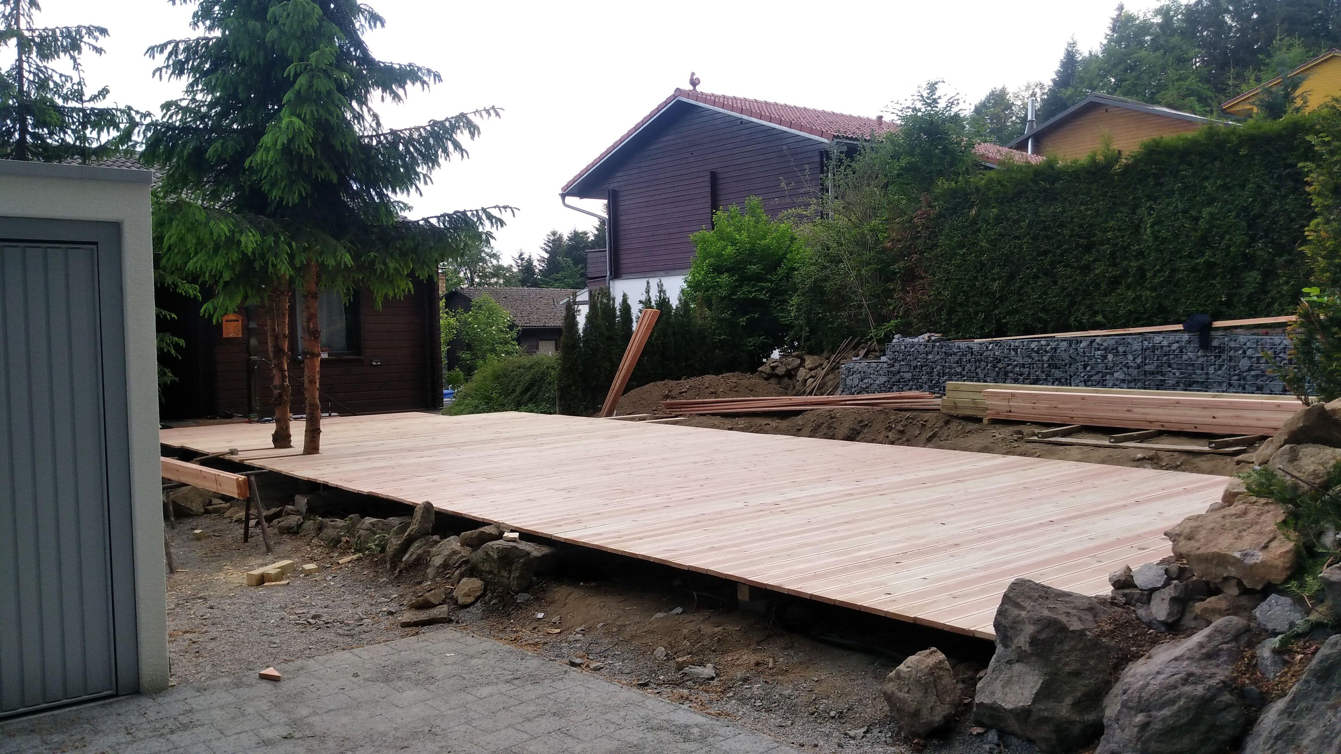 Tag 17 Terrasse Teil 2 Garten Umbau