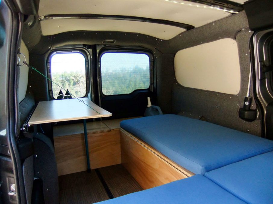 Wally Camper Van Conversion Kit for the RAM Promaster City Cargo