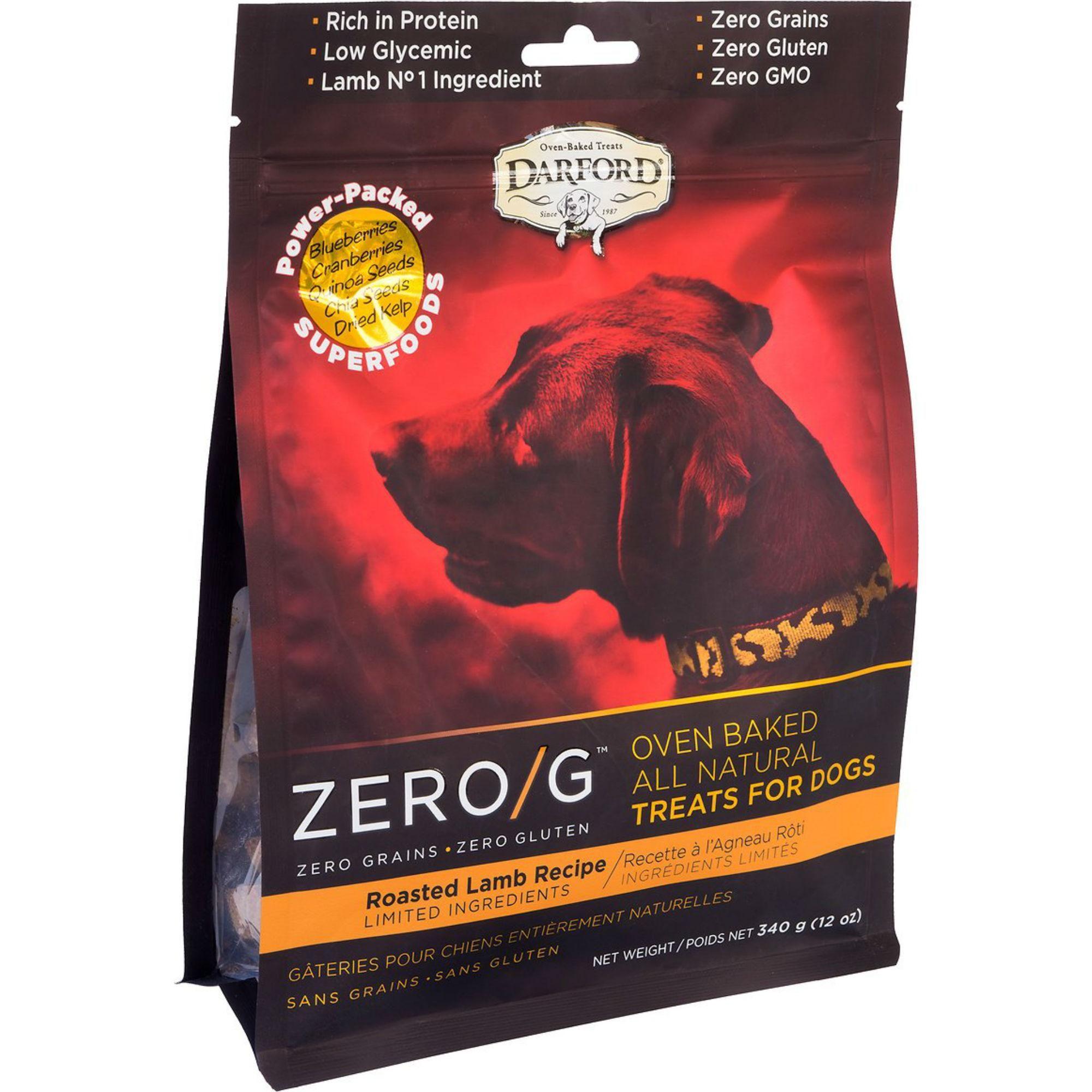 Darford Zero G Natural Dog Treats Lamb Dog Treats Natural Dog
