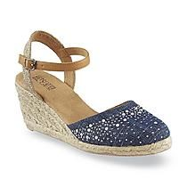 bd29902b3c6 Canyon River Blues Women's Lolita Blue Espadrille Wedge | Wedge with ...