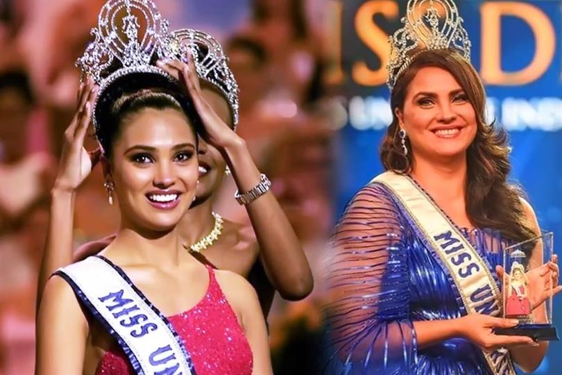 Miss Universe 2000 Lara Dutta Was Honored At The Liva Miss Diva Universe 2020 Stage As She Completes 20 Years In 2021 Indian Celebrities Lara Dutta Miss Universe 2000