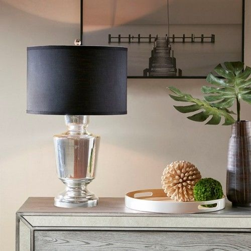 Table Lamp Black Shade