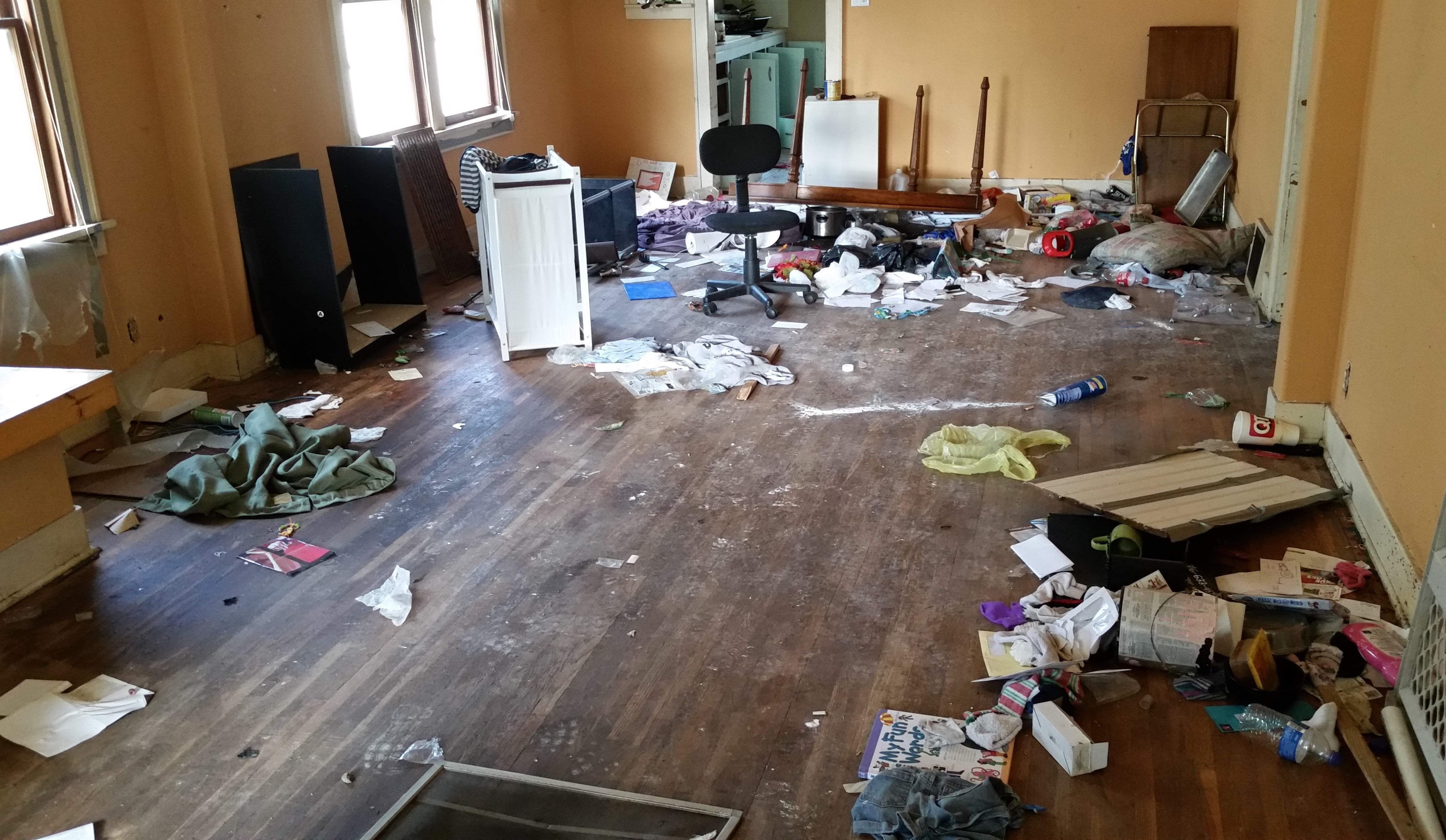 Tenants leave a mess for you? No problem! Heartland