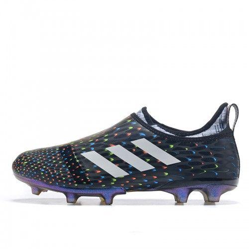 Beste Adidas Glitch 17 FG Svart Fotballsko | Football Boots