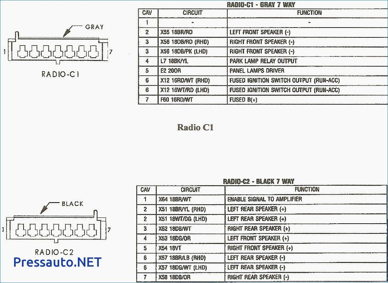Diagrama De Cableado De La Radio Jeep Grand Cherokee De