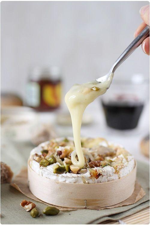 Camembert Roti Au Four Miel Et Fruits Secs Recette Avec Images