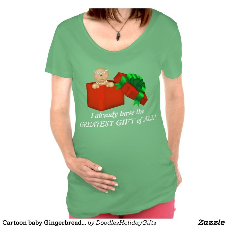 gingerbread shirt cartoon baby gingerbread maternity t shirt zazzle gifts
