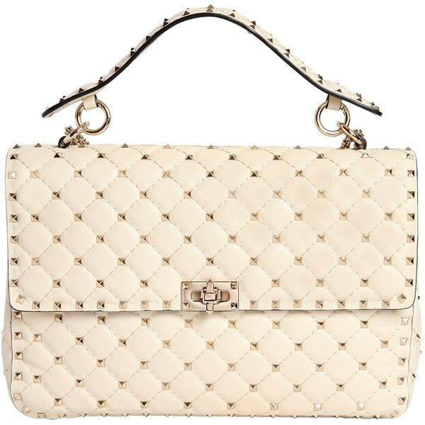 e27e2152d1ef Valentino Women Large Spike Quilted Leather Bag ( 3