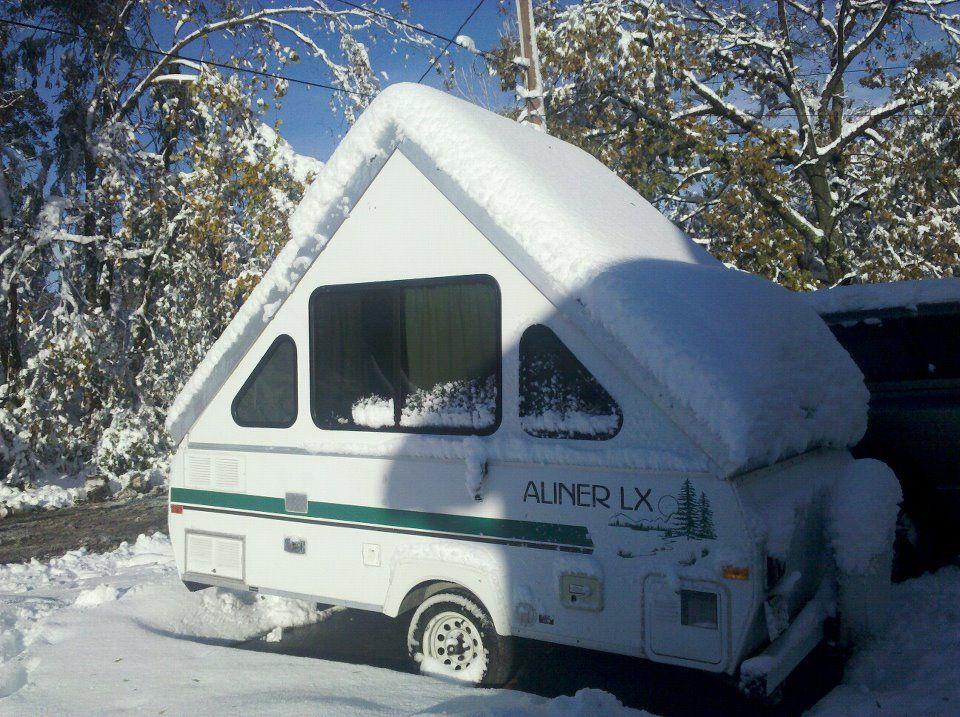 1997 aliner lx that we restored a frame trailer truck