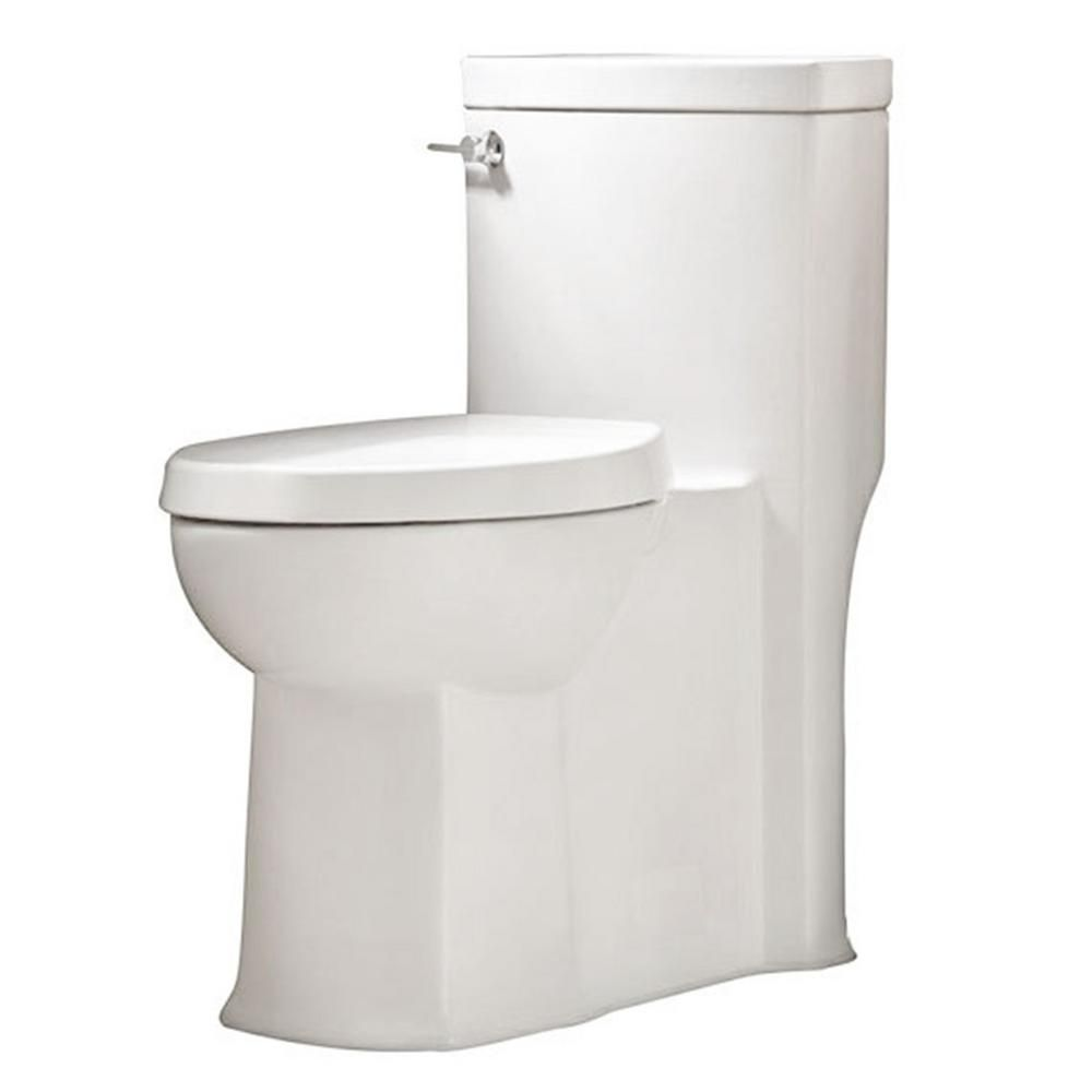 American Standard Cadet 3 Flowise 2 Piece 1 28 Gpf Single Flush Right Height Round Front Toilet With Concealed Trapway In White 2988 101 020 American Standard Shower Remodel Small Bathroom