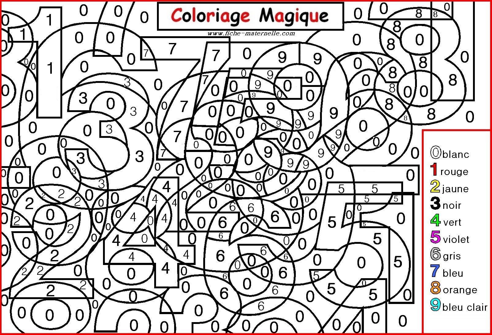 Coloriage Magique Pour Les Plus Petits Les Chiffres Coloriage Magique Coloriage Chiffre Coloriage Magique A Imprimer