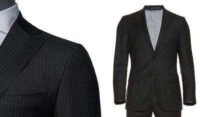 London Part II - SuitSupply Charcoal Pinstripe