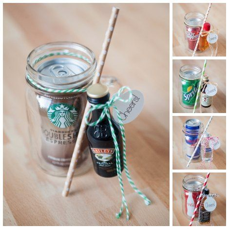 Diy Mason Jar Cocktail Gifts Diy Gift World Mason Jar Cocktail Gifts Mason Jar Cocktails Mason Jar Gifts