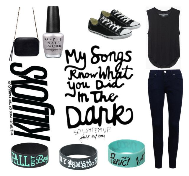 """Bands Are My Life"" by supy-patel on Polyvore featuring Raquel Allegra, Converse, OPI and Zara"