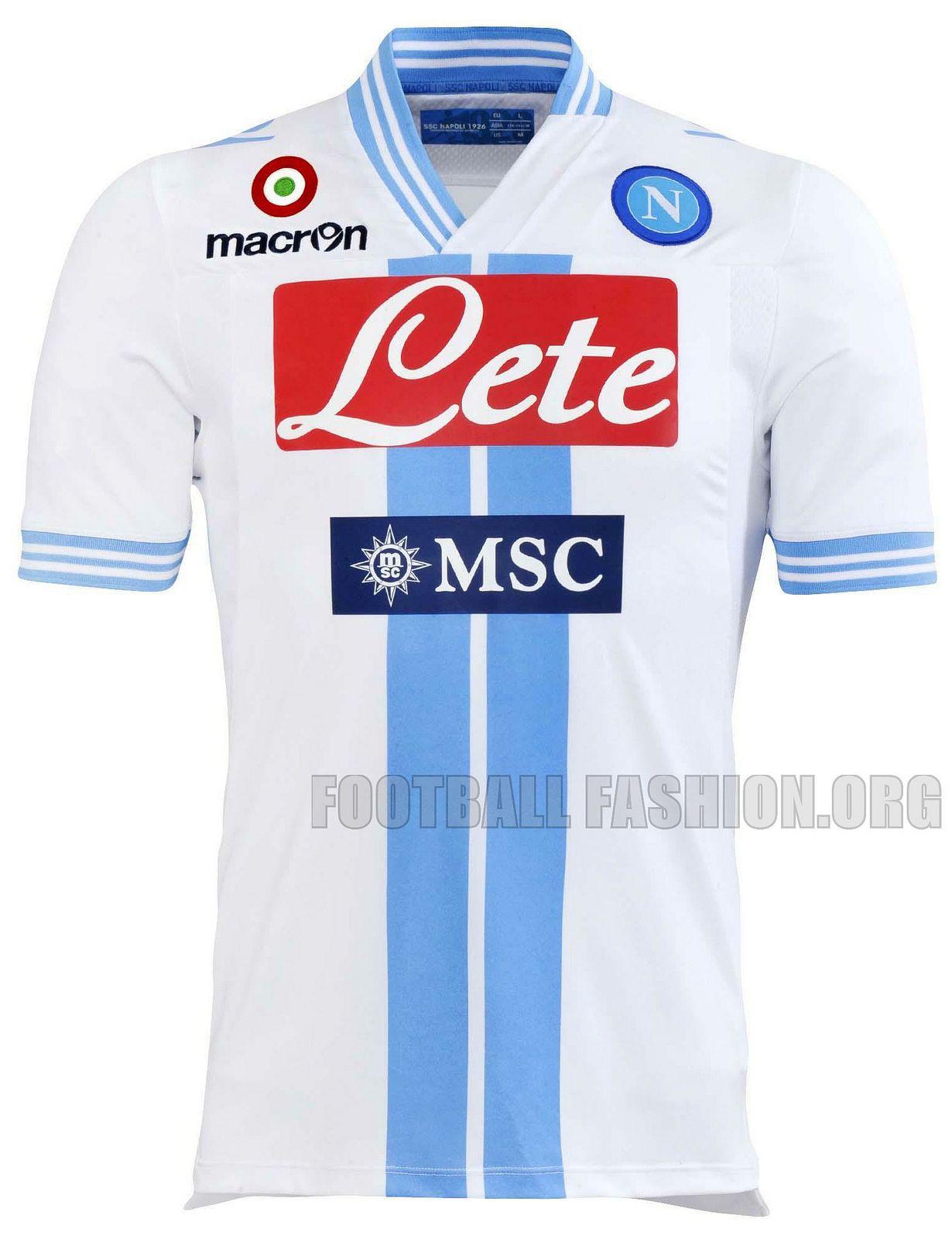 SSC Napoli Macron 2012 13 Third Kit  38b1c4e58582