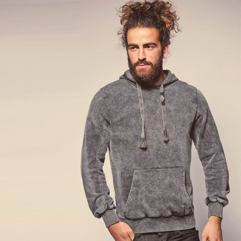 Men Brave Soul Glazier hooded sweatshirt