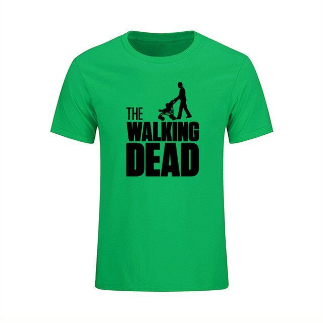 The Walking Dad Fathers Day Men's Funny T-Shirt T Shirt Men Short Sleeve Cotton Novelty Camisetas