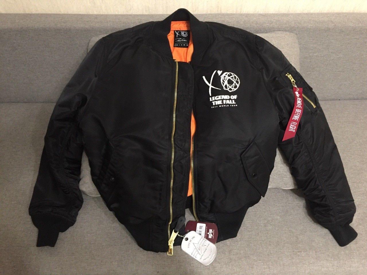 The Weeknd X Futura 2000 Ma 1 Design Bomber Ebay Link Bomber Bomber Jacket Design [ 960 x 1280 Pixel ]