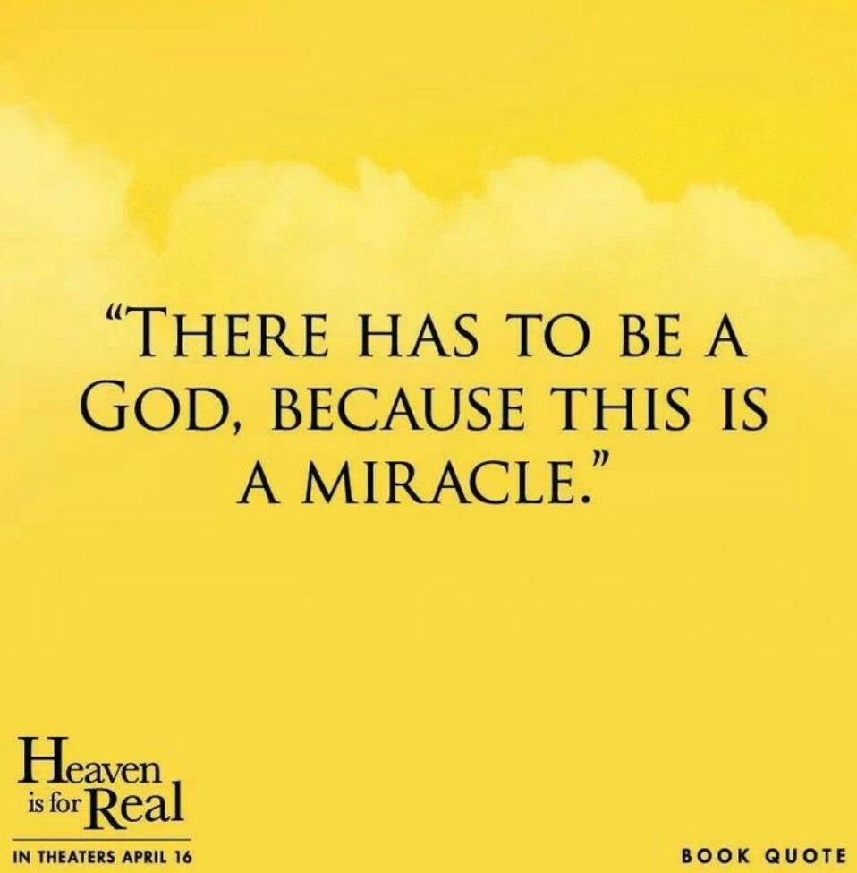 Heaven Is For Real Book Quotes: ~Quotes And Sayings~