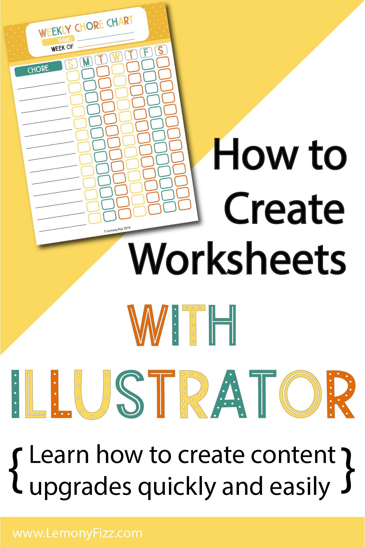 How To Create Worksheets And Workbooks In Illustrator