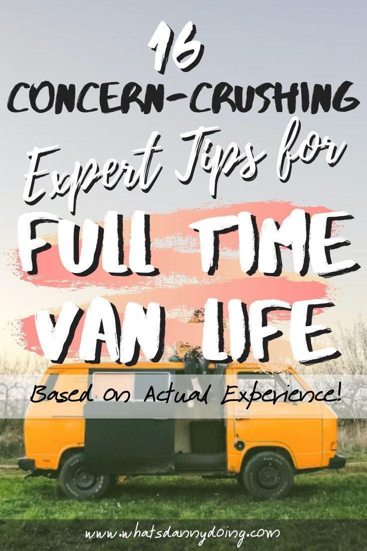 Photo of Are you considering the move to full-time RV living or van life? It's an excitin…