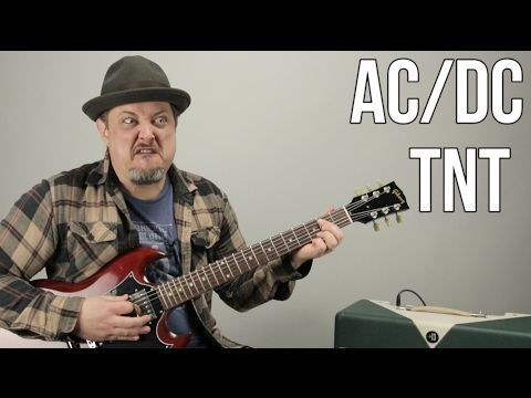 AC/DC - TNT - How to Play TNT by ACDC Angus Young - Easy Power ...
