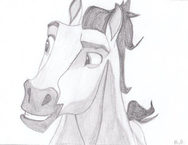 spirit stallion 6alvija on deviantart  disney art