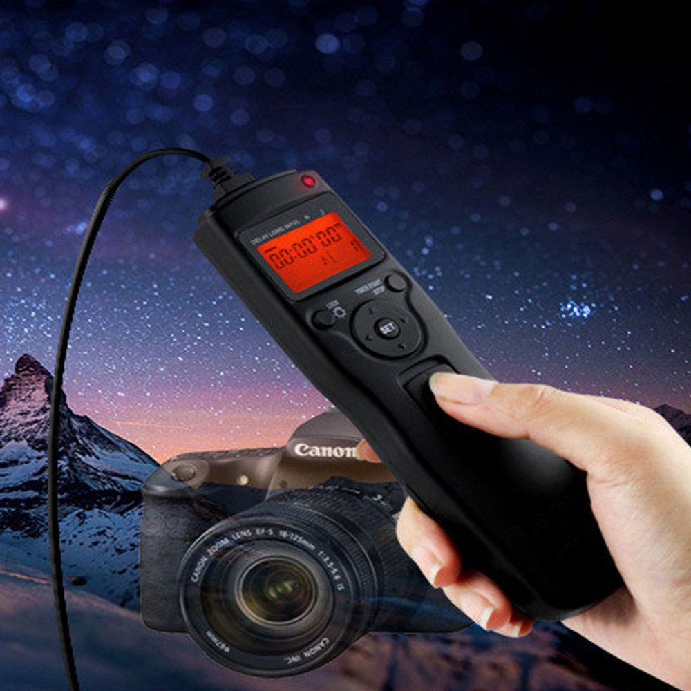 Time Lapse Intervalometer Remote Timer Shutter For Canon Dslr 650d 550d 700d 70d Camera Photography Sony Camera Canon Eos
