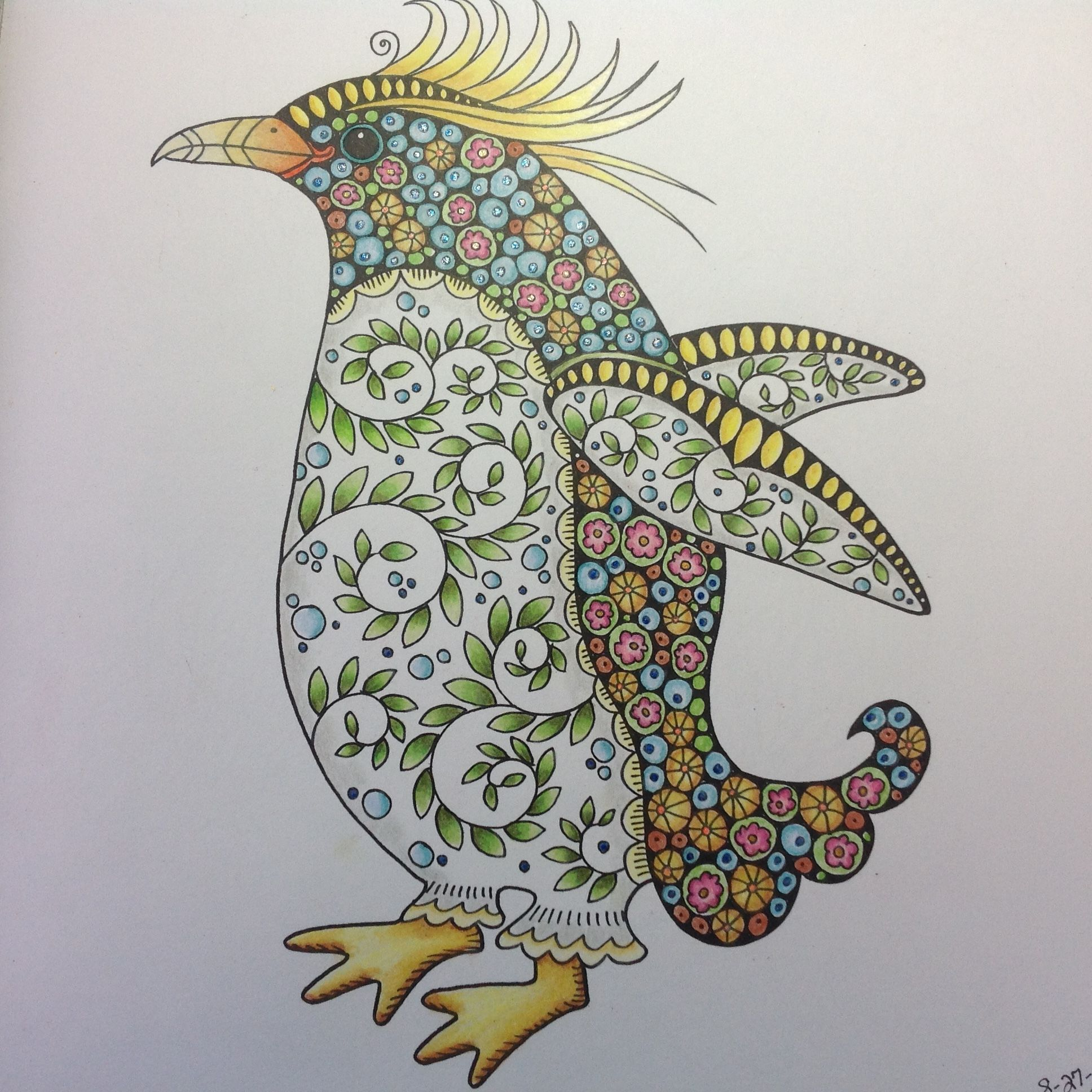 Penguin from wonders of creation coloring book | Coloring 5 ...