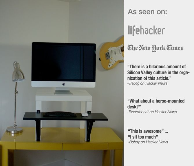 It\'s a cheap solution made from Ikea parts for as low as $22. And ...