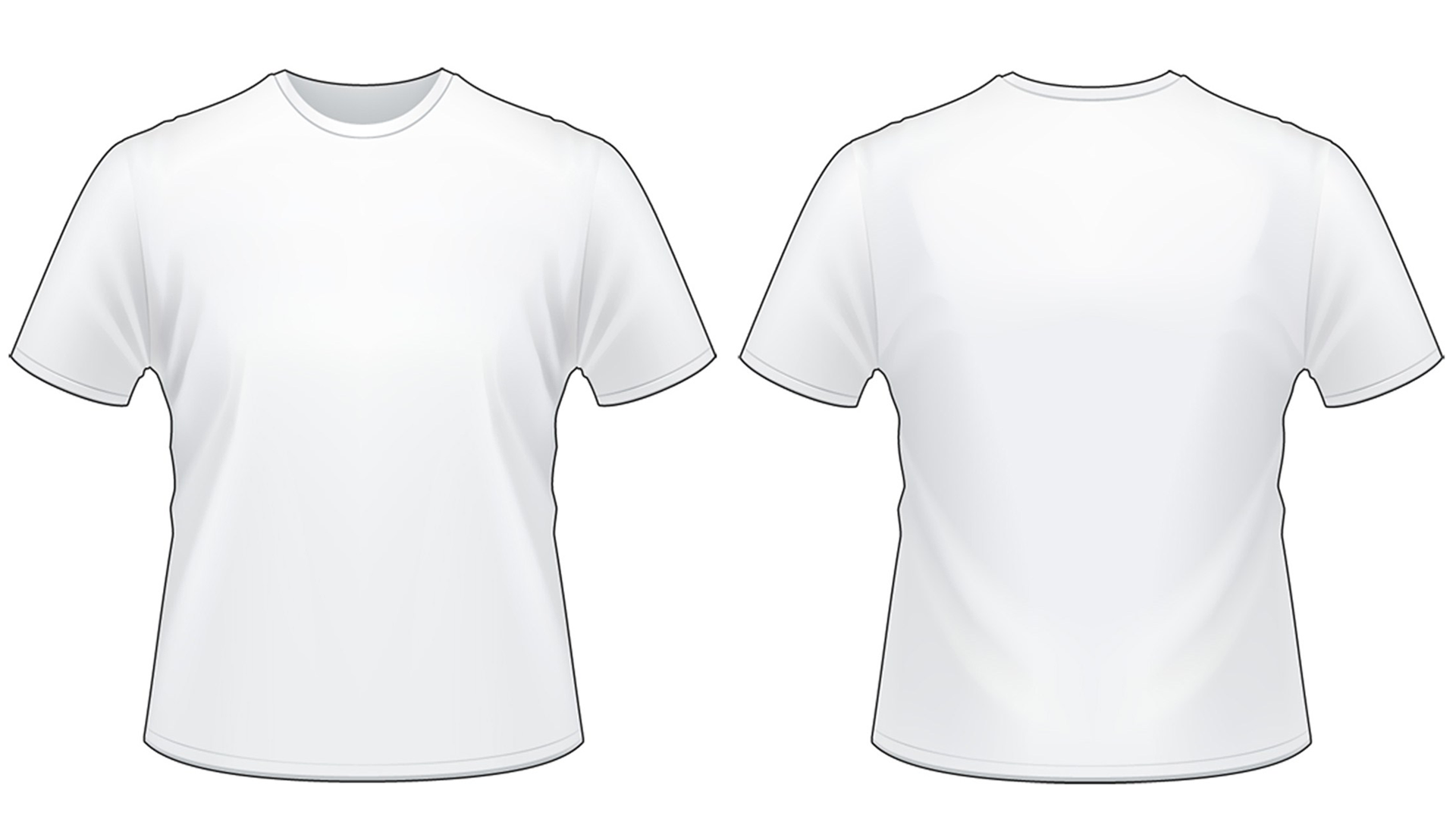 Blank Tshirt Template Worksheet In