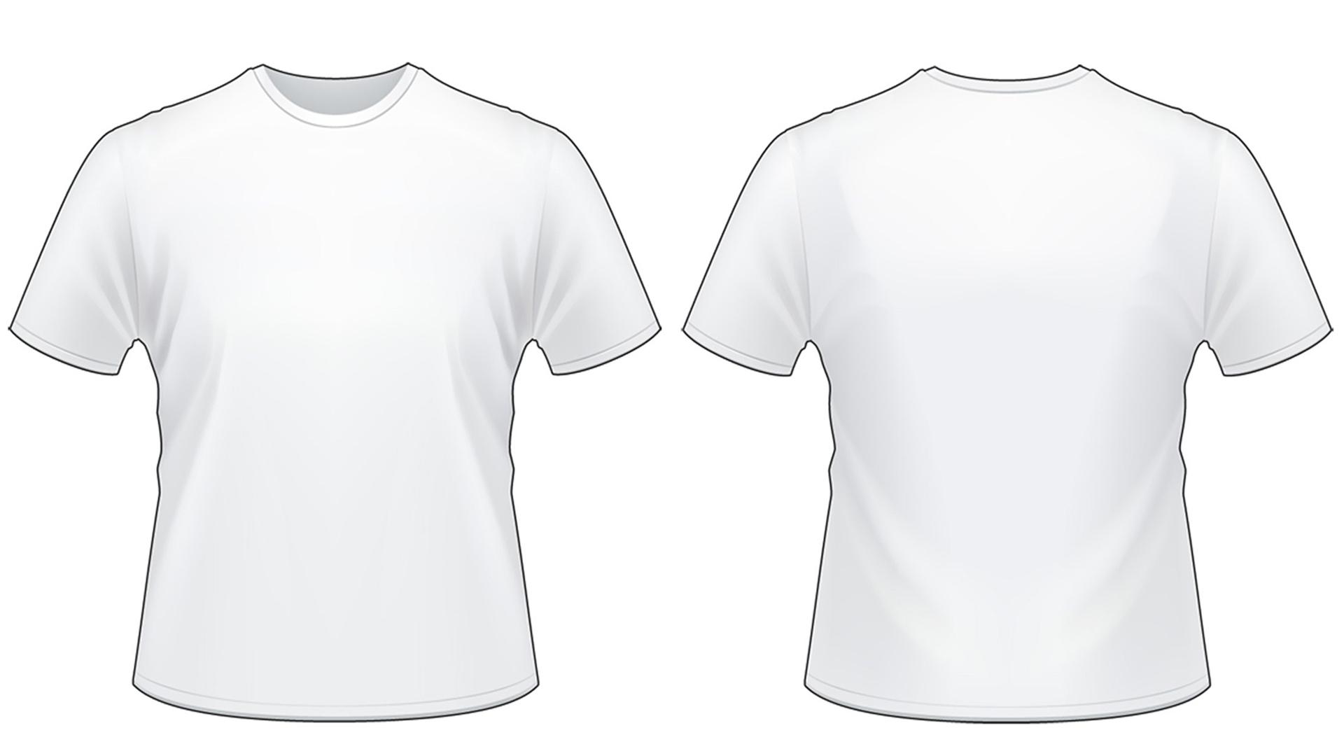 Blank Tshirt Template Worksheet In