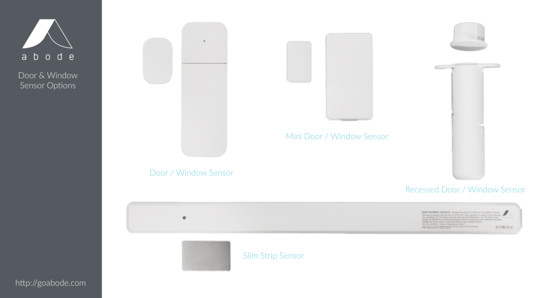 Abode Announces New 1080p Streaming Camera Door Sensors And Integration With Nest And Philips Hue Mo Diy Home Security Home Security Home Security Systems