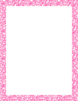 Pink Glitter Border | borders/frames | Pinterest | Pink ...