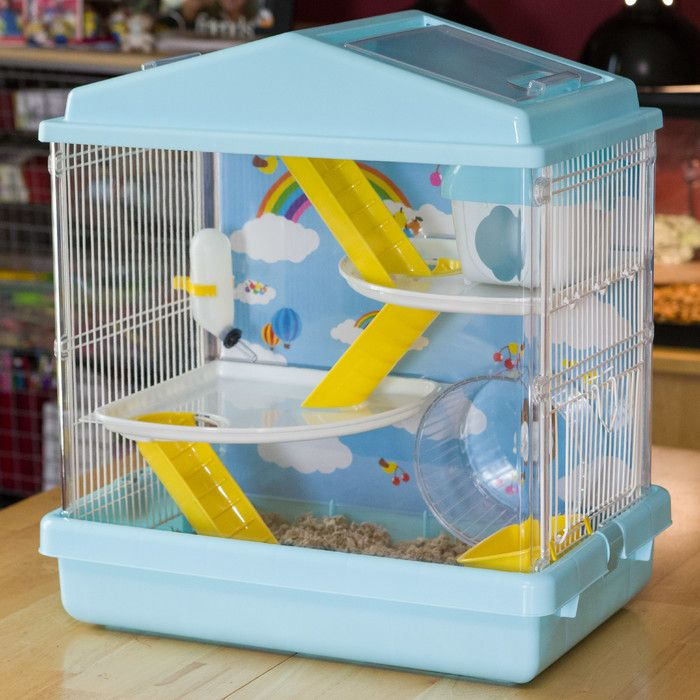 You Ll Love The Hamster Cage At Wayfair Great Deals On All Furniture Products With Free Shipping On Most Stuff Even Th Hamster Cage Small Pets Hamster House