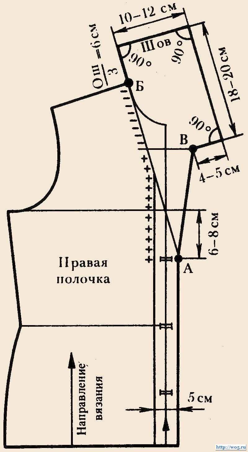 Pin de Marina Reutskaya en вязание и обработка горловины, воротников ...